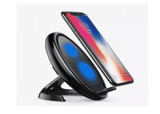 Xundd Wireless Fast Charger Stand For iPhone X - Black