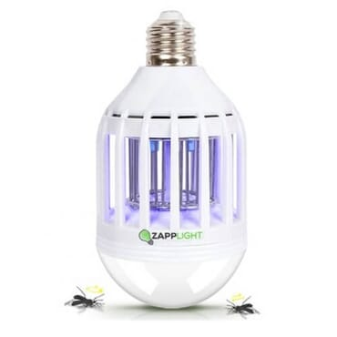 ZappLight Bulb and Zapper Insect & Mosquito Killer