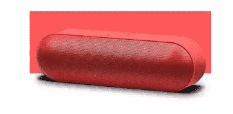 Zealot Wireless Bluetooth Speaker - Red